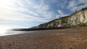 Sussex-Kreideküstenlinie an einem Herbsttag Lizenzfreie Stockfotos