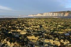Sussex kust arkivfoton