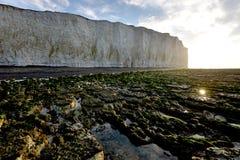 Sussex kust fotografering för bildbyråer