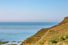 Sussex kust- landskap arkivbilder