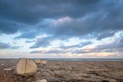 Sussex kust- landskap royaltyfri bild