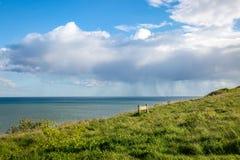 Sussex kust- landskap arkivfoto