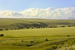 Sussex-Landschaft Lizenzfreie Stockfotos