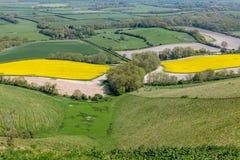 Sussex vårlandskap Arkivbild
