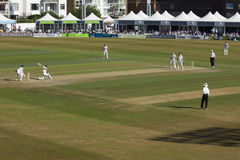 Sussex v Australia cricket tour match Royalty Free Stock Photos
