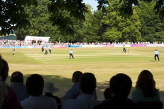 Sussex v Surrey T20 cricket at Arundel Royalty Free Stock Photos