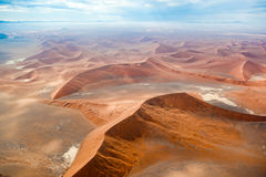 Пустыня Намибии, Sussusvlei, Африка Стоковые Изображения