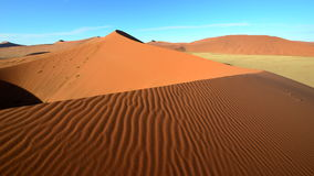 Sussuvlei,Namib desert,Namibia. Sussuvlei stunning pan in the Namib Desert surrounded by the massive red sand dunes Stock Photography