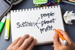 Sustain Stock Image