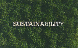 sustainability Fotografia Stock