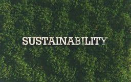 sustainability Fotografia de Stock