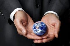 sustainability för jordmiljöansvar Arkivfoto