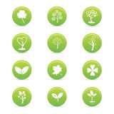 Sustainability icons royalty free illustration