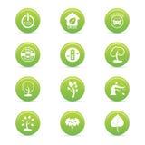 Sustainability icons Royalty Free Stock Image