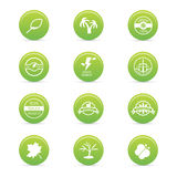 Sustainability icons Stock Photo