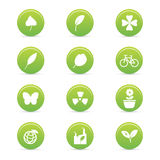 Sustainability icons Royalty Free Stock Photo