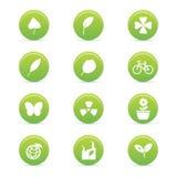 Sustainability icons Royalty Free Stock Photo