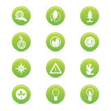 Sustainability icons Stock Photos