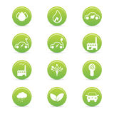 Sustainability icons stock illustration