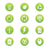Sustainability icons Stock Photography