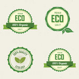 Sustainability labels Royalty Free Stock Photos