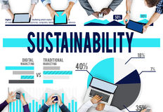Sustainability Resource Conservation Viable Concept Royalty Free Stock Images