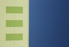 Sustainable Building Panels Royalty Free Stock Images
