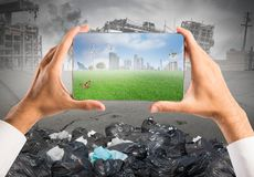 Sustainable development royalty free stock images