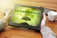Sustainable development Royalty Free Stock Photos