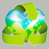 Sustainable Earth Day Icon Stock Photo
