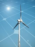 Sustainable energy concept Stock Image