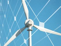 Sustainable energy concept Royalty Free Stock Photography