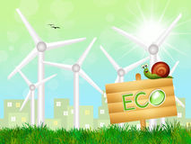 Sustainable energy Royalty Free Stock Images