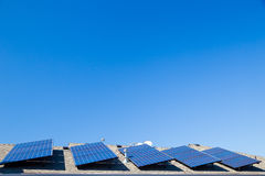 Sustainable Energy Solar Panels Stock Images