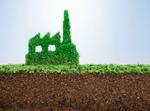 Sustainable industrial development Royalty Free Stock Photography