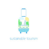 Sustainable tourism concept Stock Photos