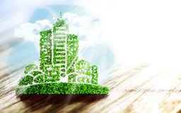 Sustainable urban development Stock Images