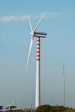Sustainable wind power generation Royalty Free Stock Photos