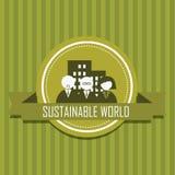 Sustainable world Royalty Free Stock Photos