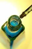 Sustancia fluorescente foto de archivo libre de regalías