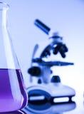 Sustancia química, ciencia, equipo de laboratorio Imágenes de archivo libres de regalías