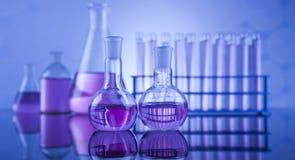 Sustancia química, ciencia, equipo de laboratorio Imagen de archivo
