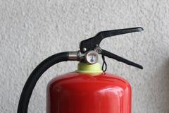 Sustancia química seca del fuego y de los equipos de seguridad Fotografía de archivo libre de regalías