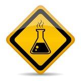Sustancias químicas del peligro Imagenes de archivo