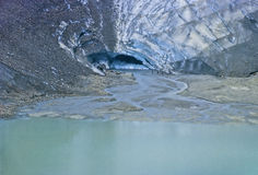 Susten glacier Royalty Free Stock Photography
