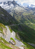 Susten pass road, Switzerland Stock Photos