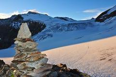 Sustenhorn山顶  库存图片