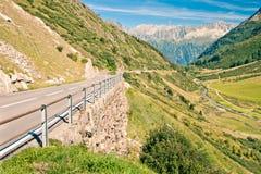 Sustenpass, Zwitserland Royalty-vrije Stock Afbeeldingen
