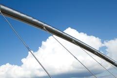 Sustentação com cabos. imagens de stock