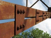 Sustentação da ponte fotografia de stock